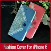 Чехол стильный кошелек книжка Iphone 6