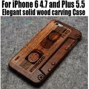 Чехол деревянный дизайнерский Iphone 6/6 plus