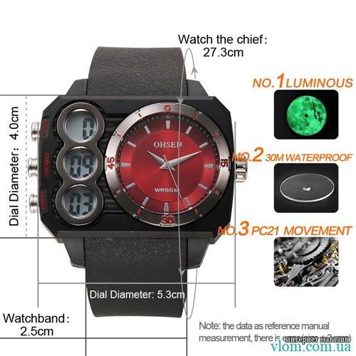 Мужские часы Ohsen as05