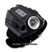 Мужские часы LED с фонариком
