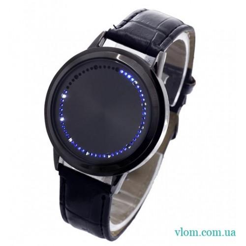 LED часы Round NKD