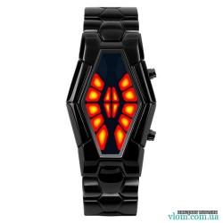Мужские бинарные LED часы Skmei 1082
