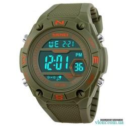Мужские военные электронные часы Skmei 1093