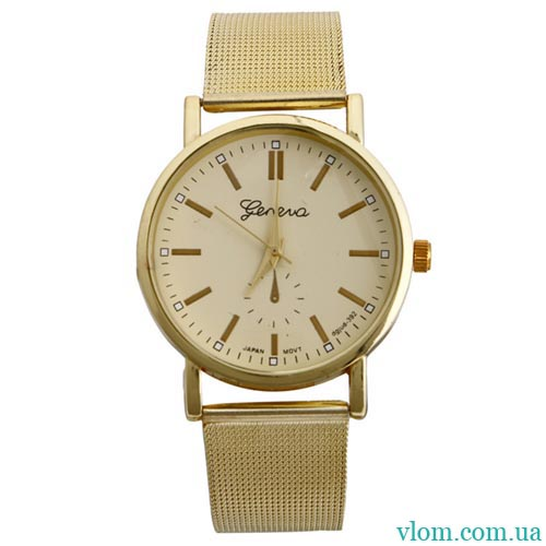 Мужские часы Geneva золотые