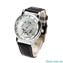 Мужские часы стиль Skeleton
