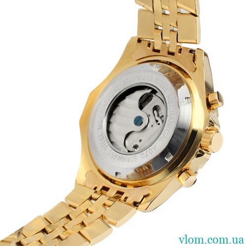 Мужские часы механика Jaragar Military Steel