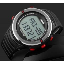 Мужские часы Skmei 1111 с шагомером и пульсометром