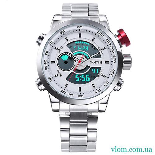 99fc6ff3 Заказать мужские наручные недорогие часы North 6015 электронные