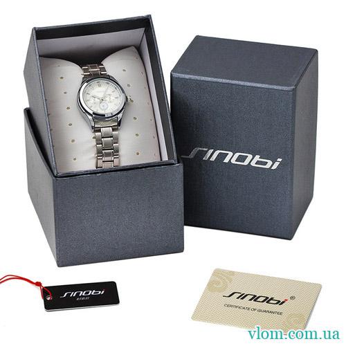 Заказать наручные оригинальные женские часы SINOBI Steel 88313c9fb95