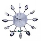 Настенные часы Кухня вилки ложки