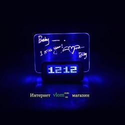 Настольные часы Highstar с доской для записи