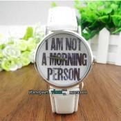 Часы A am not a morning person