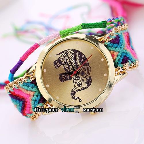 Часы индийский слон