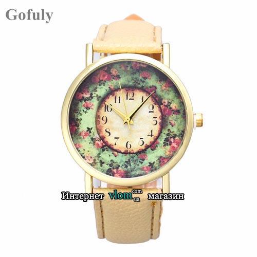 Часы retro Flowers