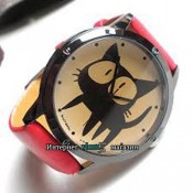 Часы Черный кот