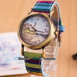 Часы красочные Маяк