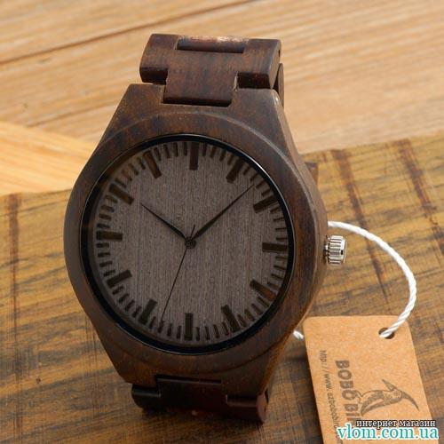 Деревянные часы BoBo Bird WD009