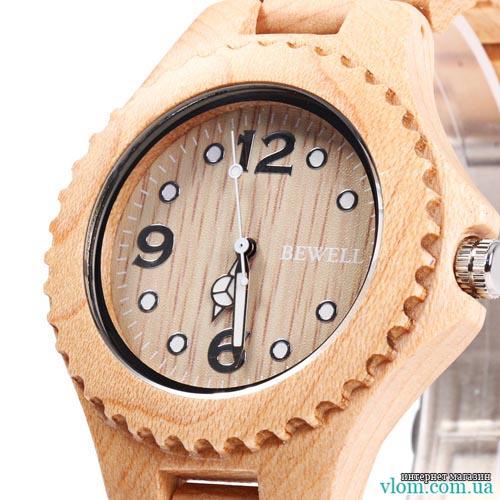 Деревянные часы женские BEWELL