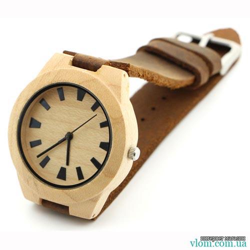 Деревянные часы SKYMOOD