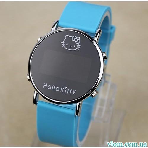 Для ребенка электронные часы Hello Kitty для девочки