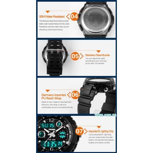 Для ребенка электронные наручные часы Skmei 1060 для мальчика