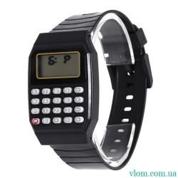 Для ребенка электронные наручные часы Калькулятор