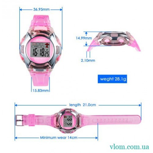 Для ребенка электронные часы Synoke 99329
