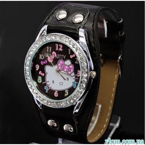 Для ребенка кварцевые часы Hello Kitty рок для девочки