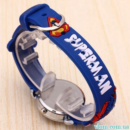 Для ребенка кварцевые часы для мальчика Superman