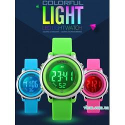 Для ребенка электронные наручные часы Skmei 1100
