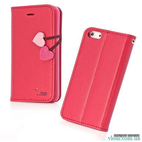 Чехол красная книга Love на для  Iphone 5/5s