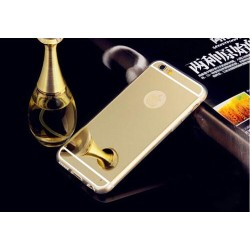Чехол золотой зеркальный на Iphone 6 plus