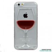 Чехол с жидкостью вино на Iphone 6 plus