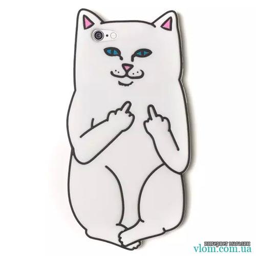 Чехол кот f**k off на Iphone 6/6s