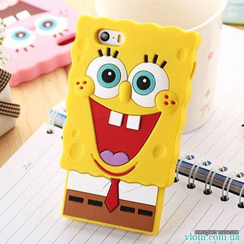 Чехол SpongeBob SquarePants на Iphone 6/6s