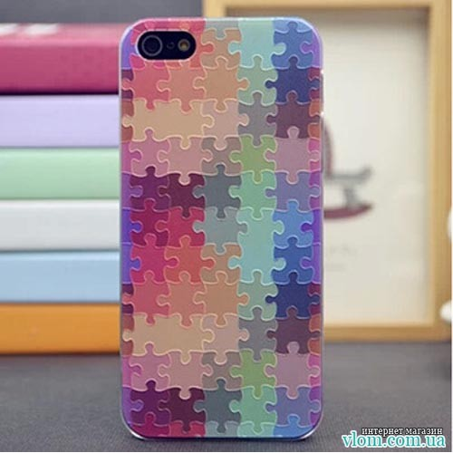 Чехол Пазл Puzzle для  Iphone 5/5s