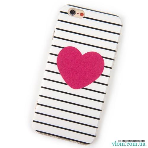 Чехол Love сердце для  Iphone 5/5s