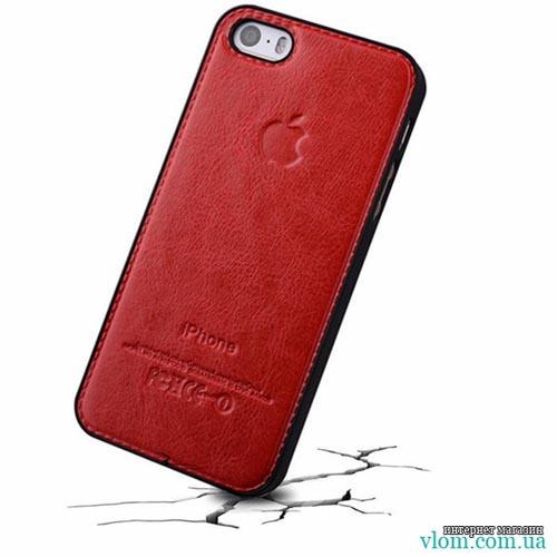 Чехол кожаный бампер для  Iphone 5/5s