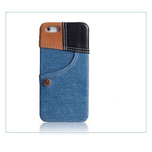 Чехол джинсовый Denim для  Iphone 5/5s