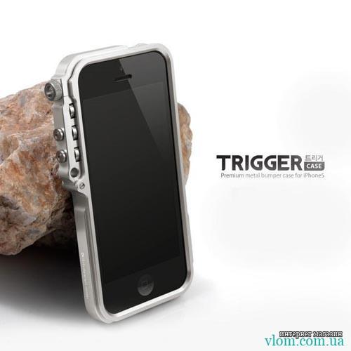 Чехол металлический Trigger для  Iphone 5/5s