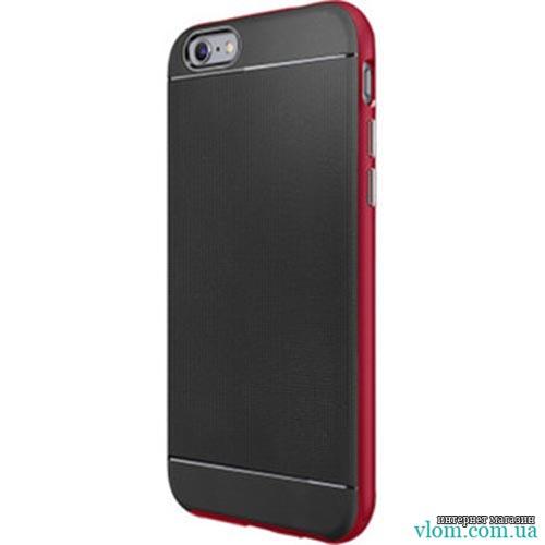Чехол ребристый красный spigen на на Iphone 6/6s