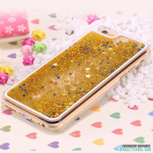 Чехол стружка звезды на на Iphone 6/6s