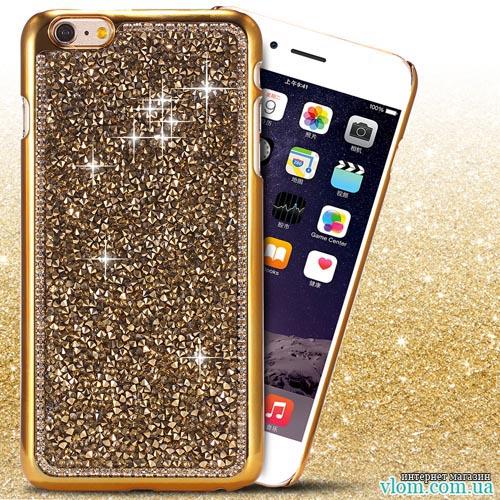 Чехол ультра золотой на на Iphone 6/6s