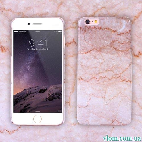 Чехол Розовый кварц на Iphone 6 plus