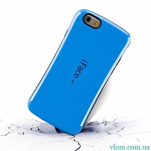 Чехол iFace синий на на Iphone 6/6s