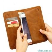 Чехол Jisoncase кожаный кошелек на Iphone 6/6s