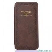 Чехол flip Vintage на Iphone 6 plus
