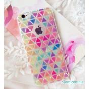 Чехол цветной Ромб for iPhone 6/6s