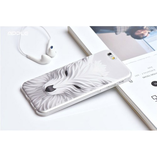 Чехол 3D Волк for на Iphone 6/6s