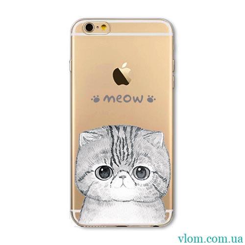 Чехол Meow на на Iphone 6/6s